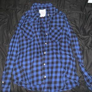 Juniors Flannel (fits like a small)